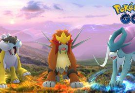 Raikou, Entei e Suicune chegaram a Pokémon GO!