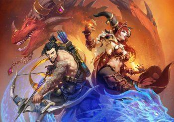 Hanzo e Alexstrasza a caminho de Heroes of the Storm