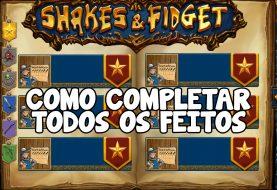 Como completar todos os feitos de Shakes & Fidget
