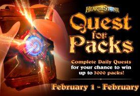 Ganha 3000 packs em Hearthstone com Quest for Packs!