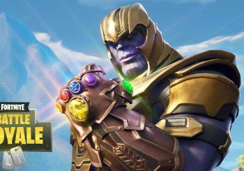 Thanos disponível em Fortnite por tempo limitado!