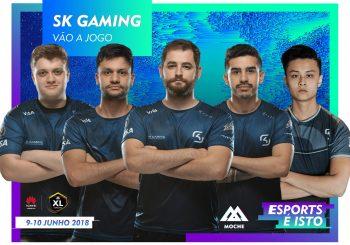 SK Gaming confirmados no Moche XL eSports!