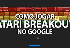 Como jogar Atari Breakout no Google?