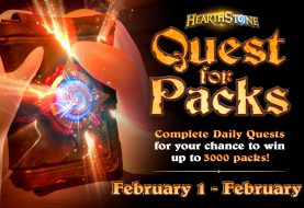 Ganha 3000 packs em Hearthstone com Quest for Packs!