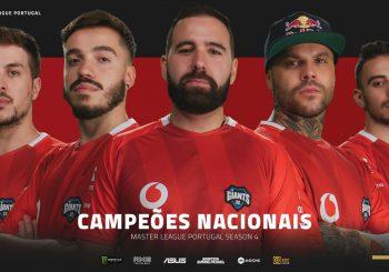 Vodafone Giants vencem a Master League Portugal!