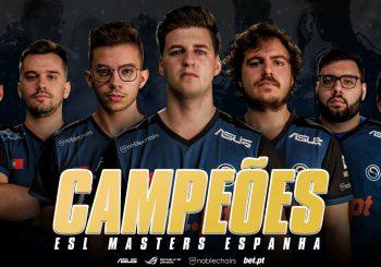 OFFSET Esports vencem a ESL Masters Espanha