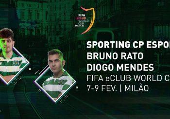 Sporting CP Esports na FIFA eClub World Cup!