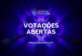 Votações abertas para os Prémios Esports Portugal 2020!