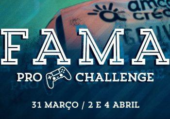 Já decorrem os qualificadores do Fama Pro Challenge!