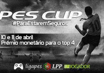 Conhecidos os finalistas da PES Cup - #ParaEstaremSeguros!