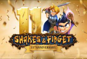 Shakes & Fidget - Atualização de 11.º Aniversário