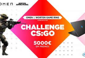 OMEN Worten Game Ring Challenge CS:GO anunciado!