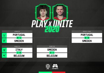 Portugal termina no top 4 da Play x Unite 2020