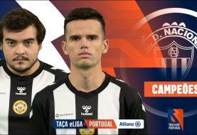 CD Nacional vence Taça eLiga Portugal Allianz