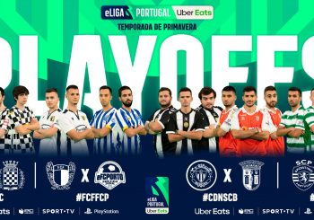 Conhecidas as Equipas Apuradas para os Playoffs da eLiga Portugal Uber Eats