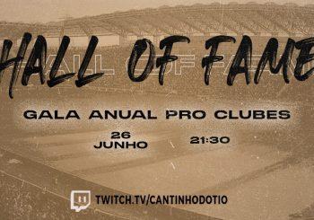 Conhecida a data da Gala Anual Pro Clubs!