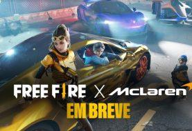 McLaren e Lando Norris a caminho de Free Fire
