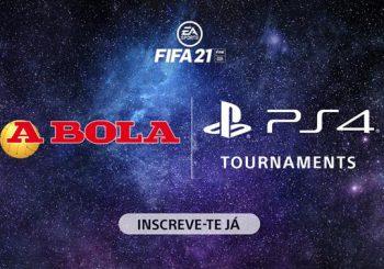 Conhecidos os Finalistas do Torneio PS4 FIFA 21!